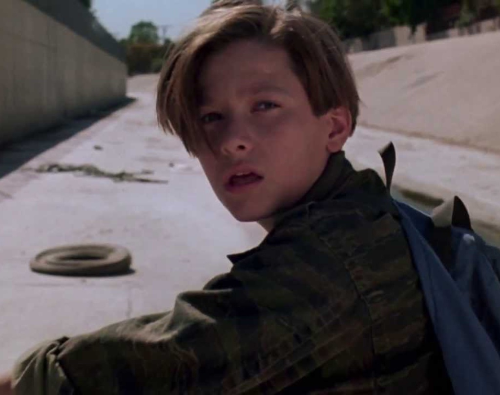 John Connor in the wash