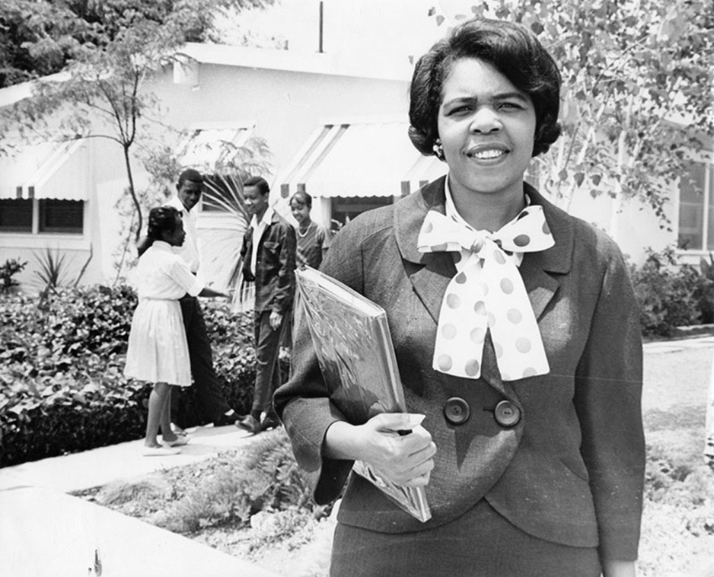 """Georgia Taylor, """"Negro"""", leading the fight for fair housing"""