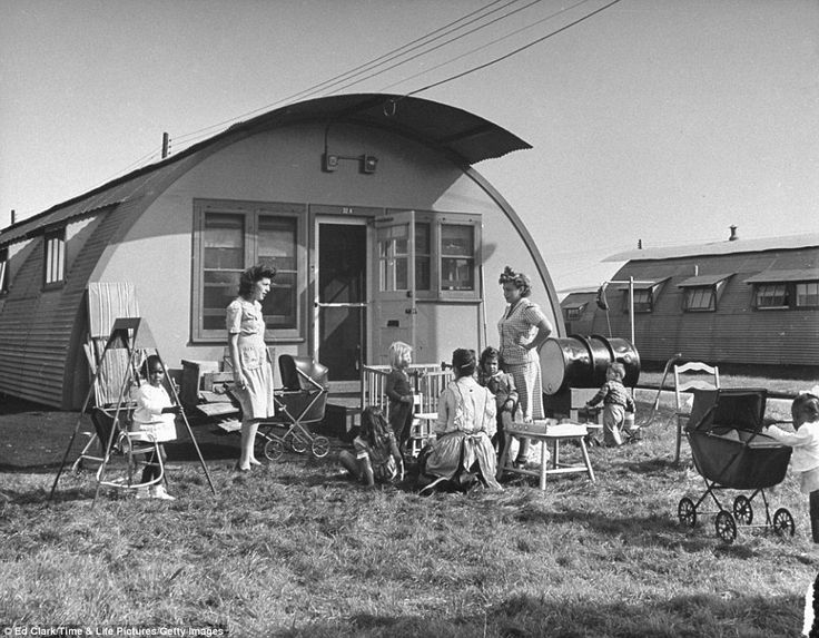 Quonset housing, 1946